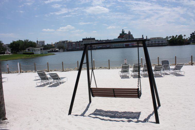 White Sand Beach at Disney Beach Club Resort