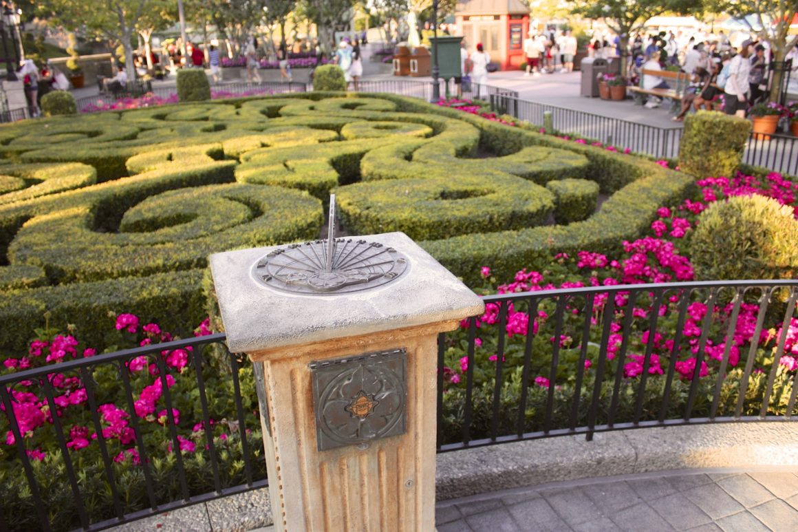 Sun Dial in the France Pavilion