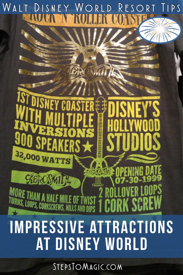 Impressive Attractions At Walt Disney World