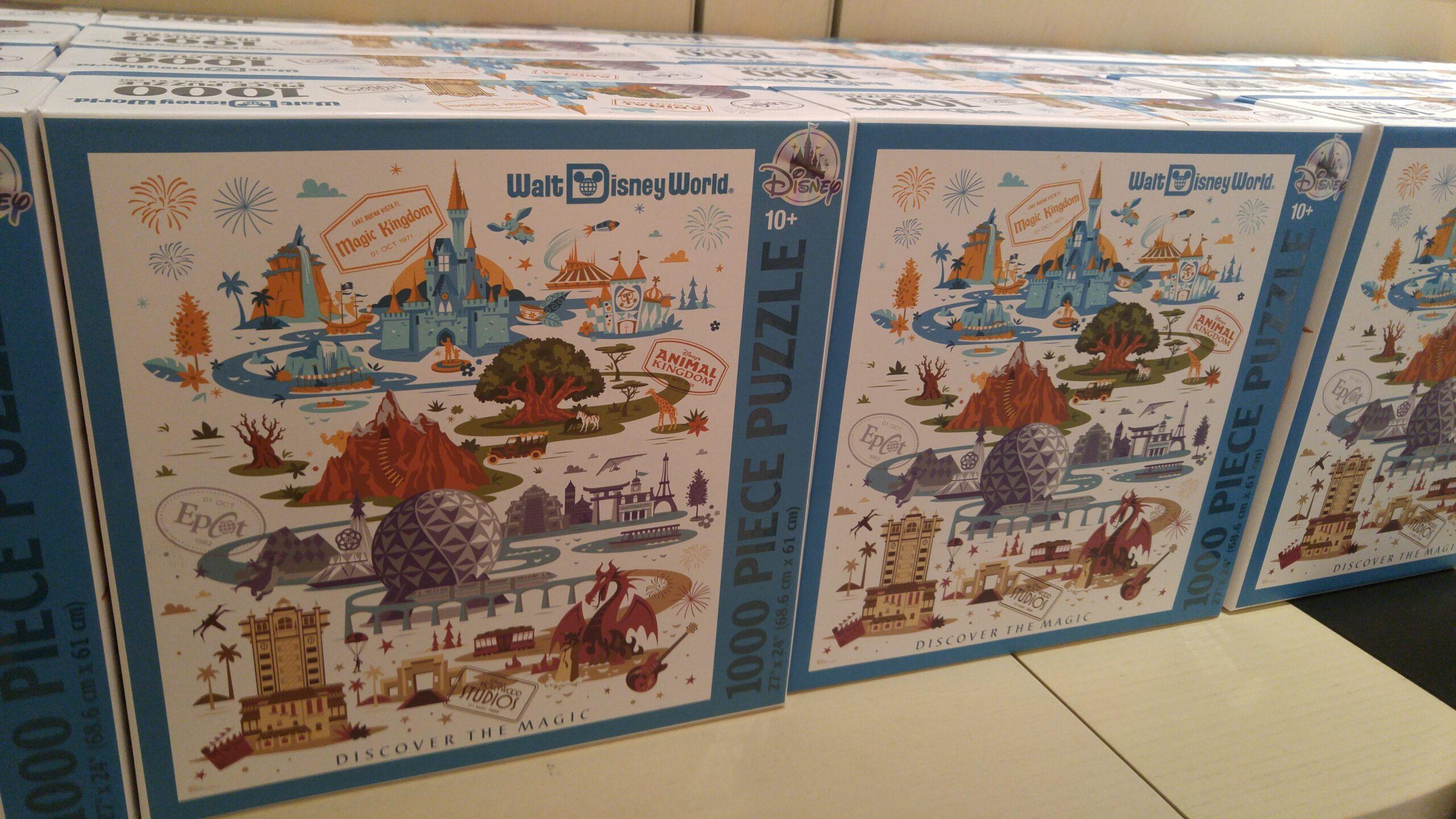 Walt Disney World 1000 Piece Puzzle