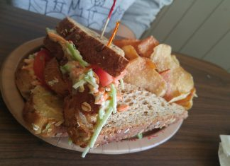Lighthouse Sandwich at Columbia Harbour House in the Magic Kingdom