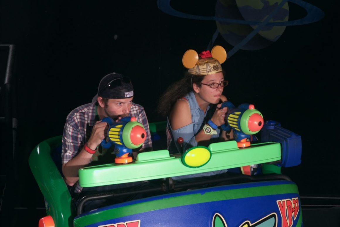 Buzz Lightyear Space Ranger Spin