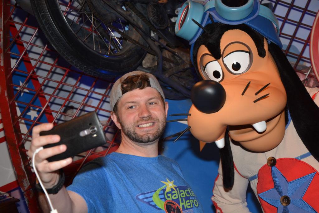 Goofy Selfie