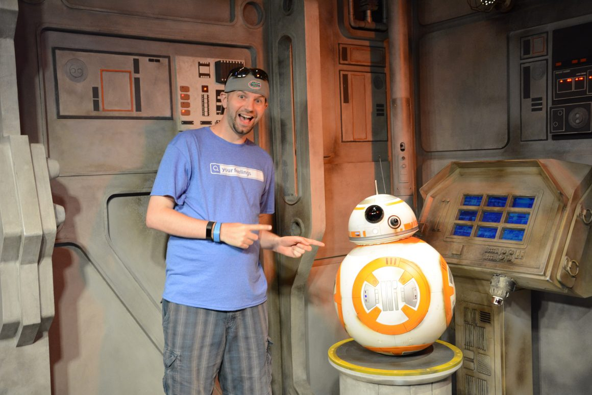 Dustin and BB-8