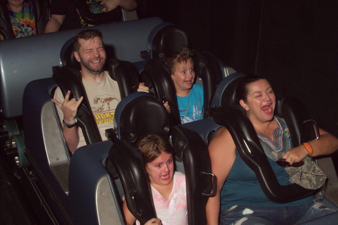 Rock n Roller Coaster Single Rider Photo
