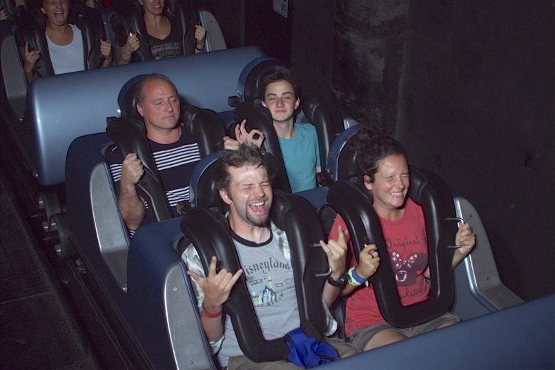 Rock n Rollercoaster On Ride Photo