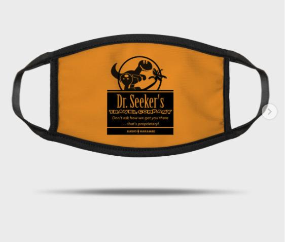 Dr. Seeker's Travel Company Mask