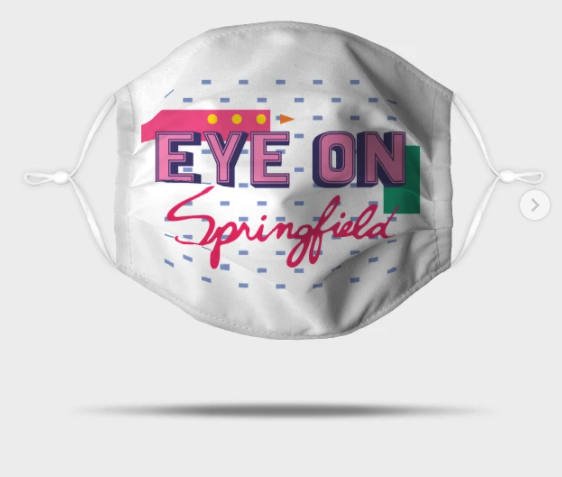 Eye On Springfield Mask