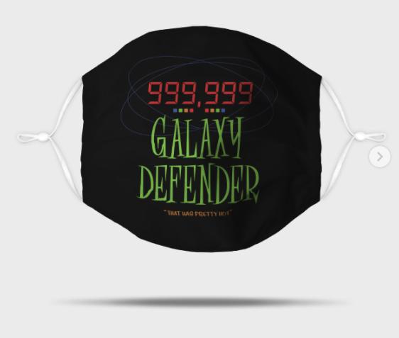 Galaxy Defender - Men in Black Alien Attack Mask