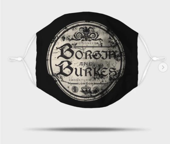 Borgin and Burkes Mask