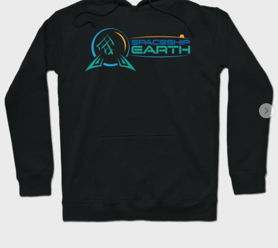 Spaceship Earth Hoodie