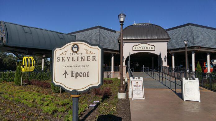 Disney Skyliner Station