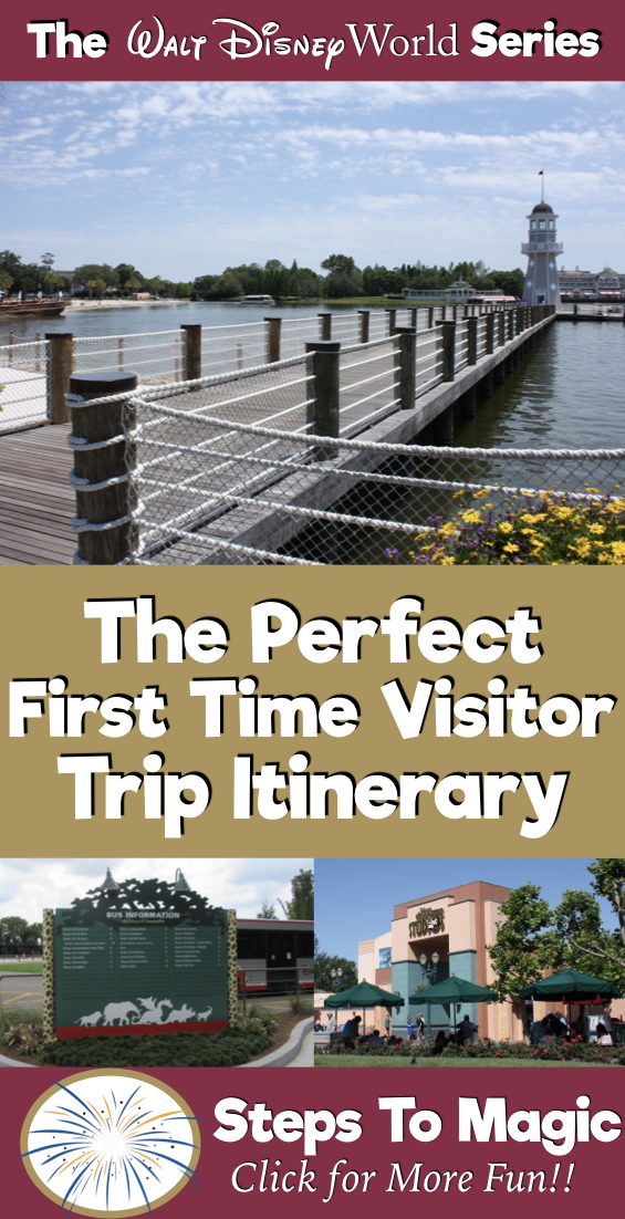 The Perfect WDW Itinerary for First Time Visitors