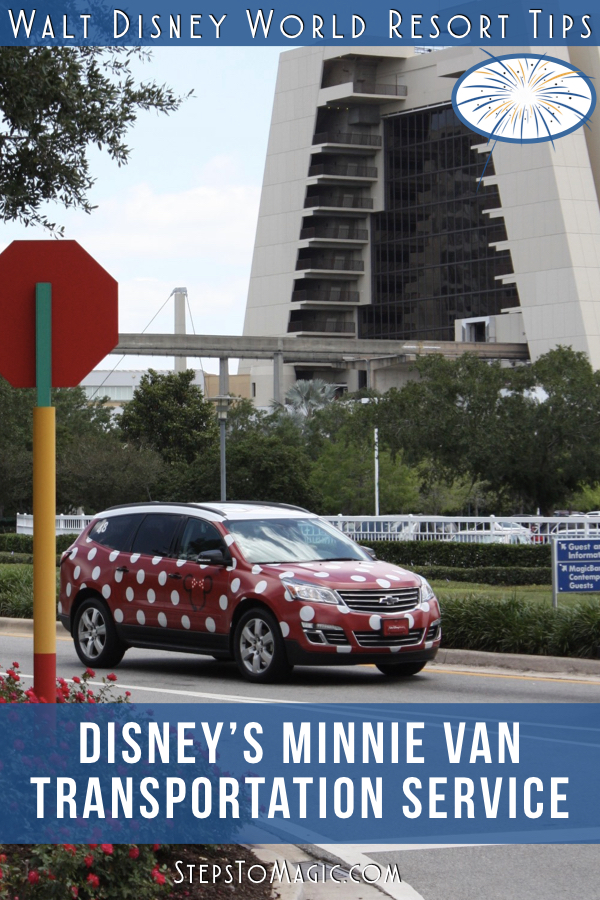 What You Should Know About Disney's Minnie Van Service
