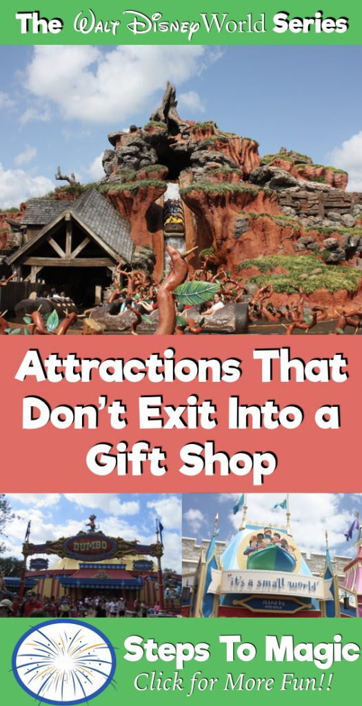 Attractions that Don't Exit into a Gift Shop