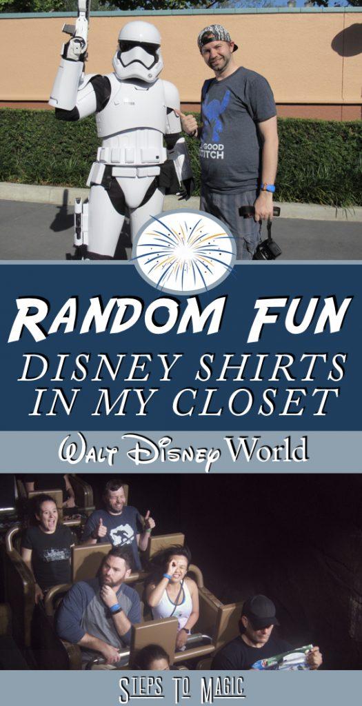 Disney Shirts in my Closet