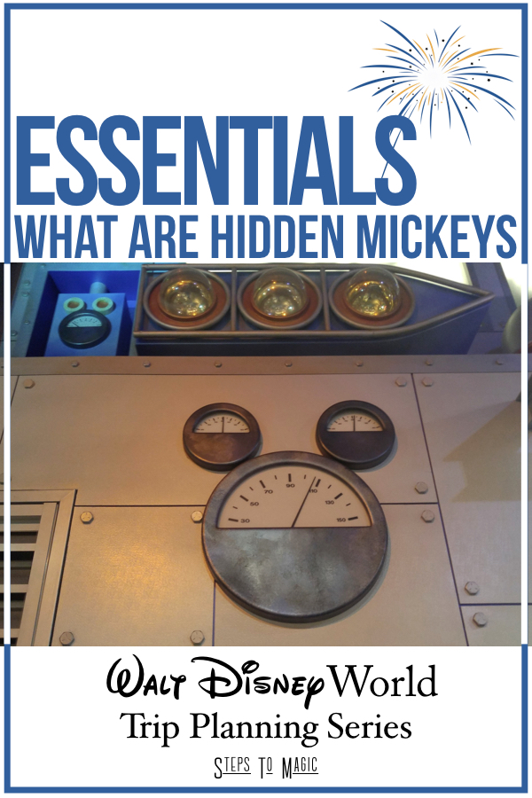 What are Hidden Mickeys
