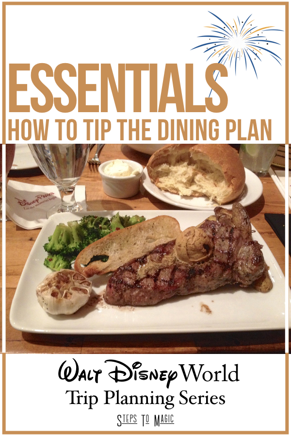 How To Tip the Disney Dining Plan