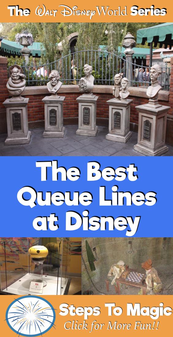 The Best Queue Lines at Walt Disney World - #StepstoMagic