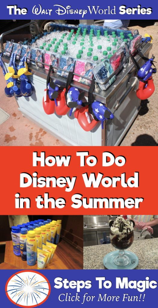 Disney World in the Summer